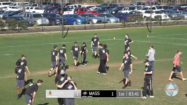 Minnesota vs. Massachusetts | Men's Pool Play | Easterns 2018