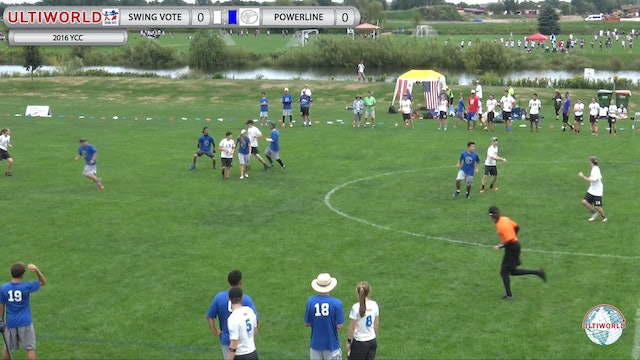 Swing Vote vs. Powerline | Mixed Pool Play | Youth Club Championship 2016