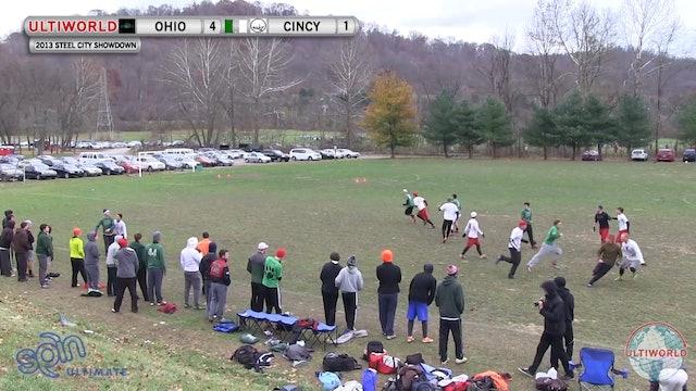 Ohio vs. Cincinnati | Men's Final | Steel City Showdown 2013