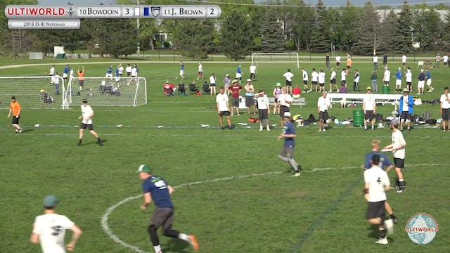 D-III Nationals: Bowdoin v John Brown...