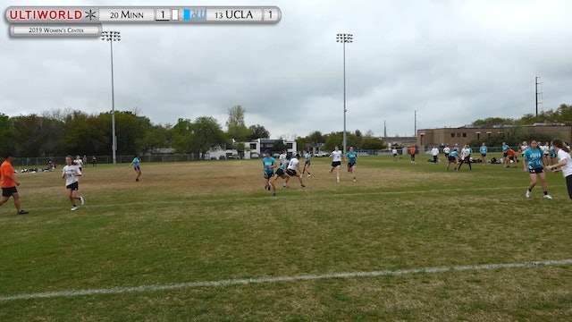 Women's Centex 2019: #20 Minnesota vs #13 UCLA (Quarter)