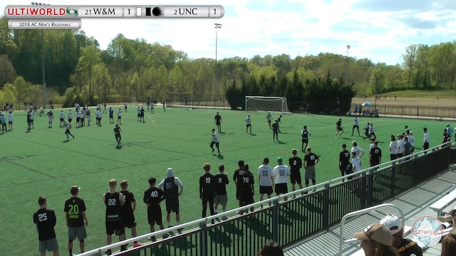 AC: #2 UNC v #21 W&M (M Semifinal Game to Go)