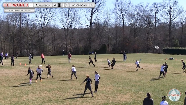 Queen City Tune Up 2018: Carleton v Michigan (W Pool)