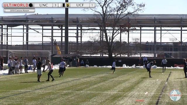 Carolina Kickoff 2018: UNC v UCF (M R...