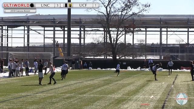 Carolina Kickoff 2018: UNC v UCF (M Round Robin)