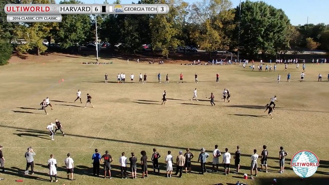 2016 Classic City Classic: Harvard v. Georgia Tech (Pool Play)