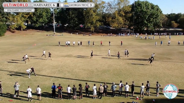 2016 Classic City Classic: Harvard v. Georgia Tech (Pool Play)