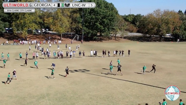 2016 Classic City Classic: Georgia v. UNC-W (Pool Play)