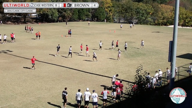 2016 Classic City Classic: Case Western v. Brown (Pool Play)