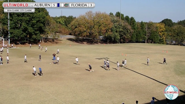 2016 Classic City Classic: Auburn v. Florida (Pool Play)