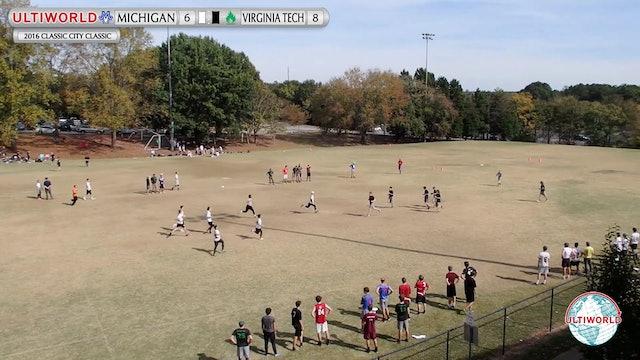 2016 Classic City Classic: Michigan v. Virginia Tech (Semifinals)