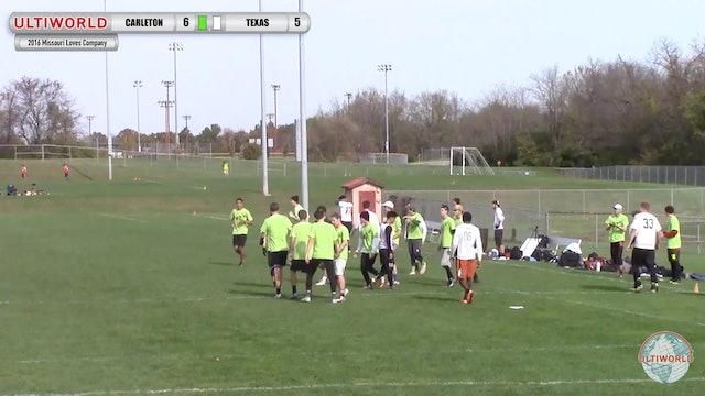 Carleton vs. Texas | Men's Semifinal | Missouri Loves Company 2016