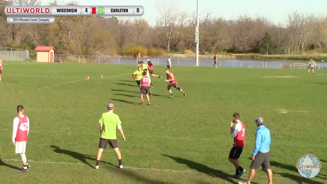 2016 Missouri Loves Company: Carleton v Wisconsin (M Finals)
