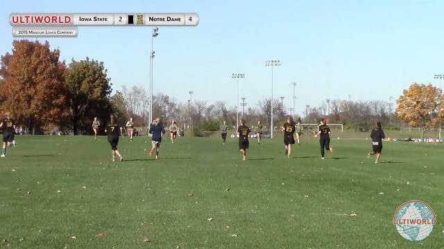 Notre Dame vs. Iowa State | Women's P...