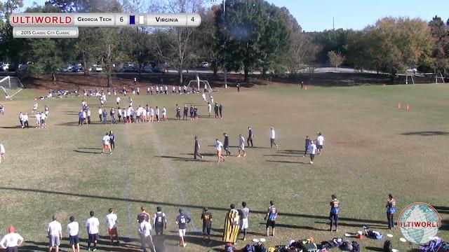 [2015-CCC-M] Georgia Tech v. UVA, Pool Play