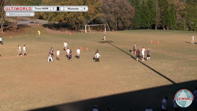 [2015-CCC-M] Texas A&M v. Harvard, Pool Play