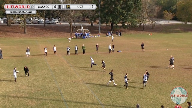 Massachusetts vs. UCF | Men's Quarterfinal | Classic City Classic 2015