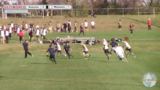 [2015-MLC-M] Carleton v. Minnesota, Pool Play