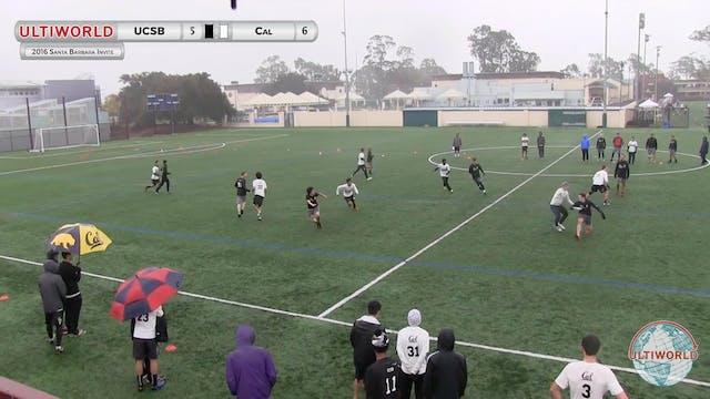 UCSB vs. California | Men's Prequarte...