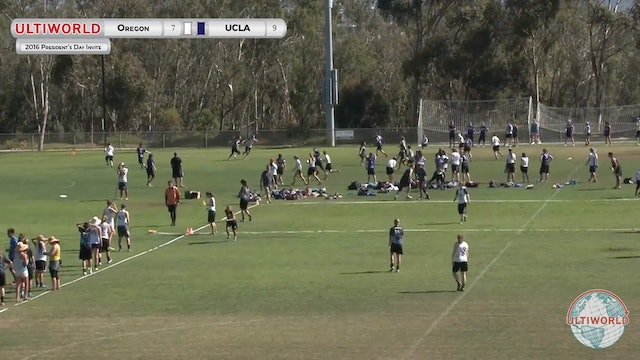 [2016-President's Day-W] Oregon v UCLA (Semis)