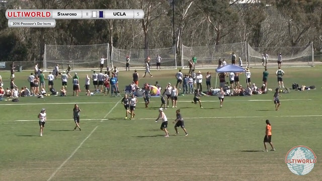[2016-President's Day-W] Stanford v UCLA (Finals)