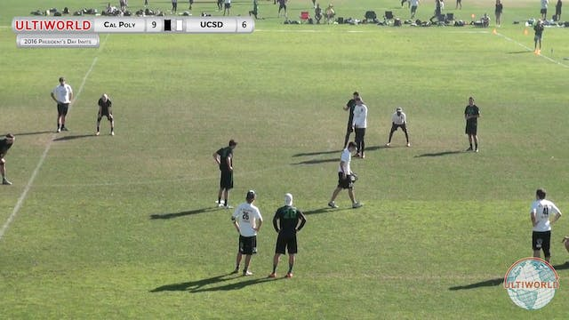 Cal Poly SLO vs. UCSD | Men's Power P...