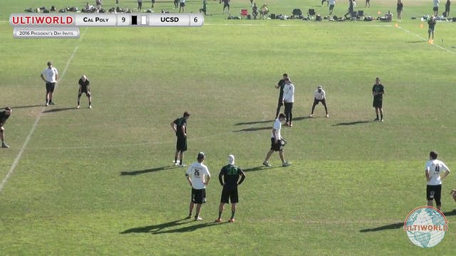 [2016-President's Day-M] Cal Poly v UCSD (Power Pools)