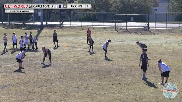 Carleton vs. Connecticut | Men's Match Play | Florida Warm Up 2016