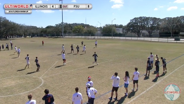 [2016-Warm Up-M] FSU v. Illinois
