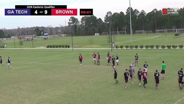 [2016-EQ-M] Georgia Tech v. Brown (Semis)