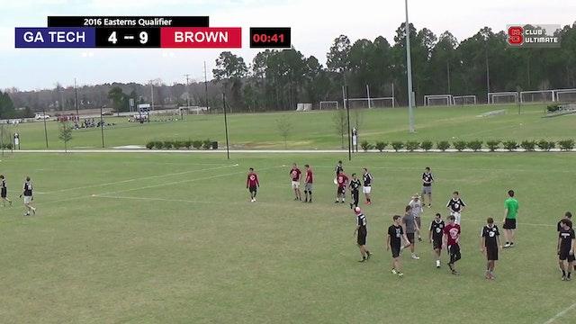 [2016-EQ-M] Georgia Tech v. Brown (Semis)