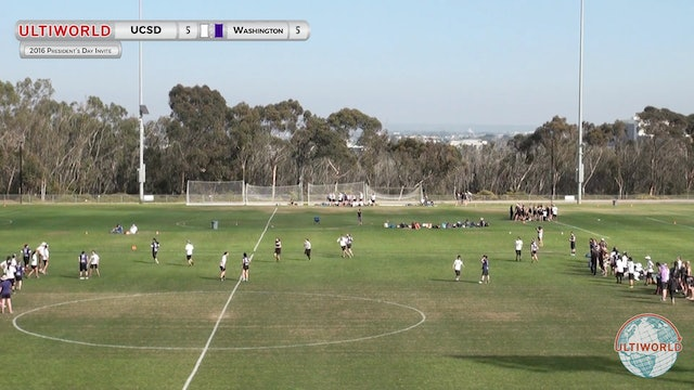 [2016-Presidents' Day-W] Washington v UCSD