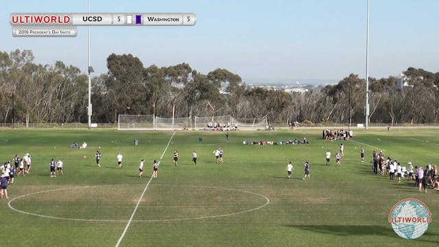 Washington vs. UCSD | Women's Pool Pl...