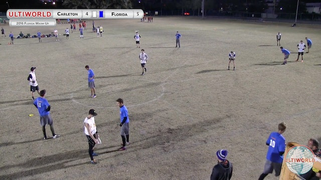 [2016-Warm Up-M] Carleton v Florida