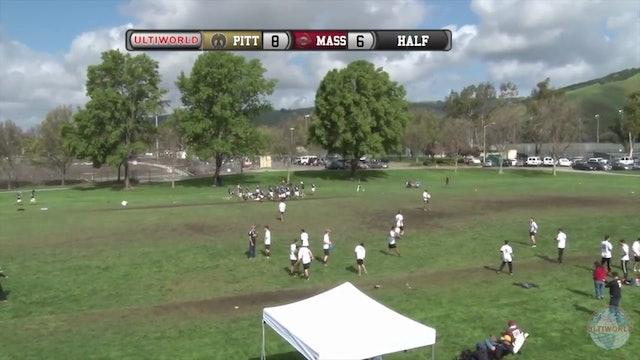 Massachusetts vs. Pittsburgh | Men's Semifinal | Stanford Invite 2016