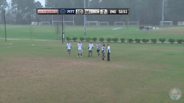 [2016-Easterns-M] Pittsburgh v UNC Wilmington (Quarterfinal)