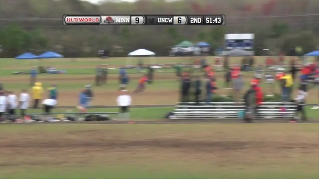 Minnesota vs. UNC Wilmington | Men's Semifinal | Easterns 2016
