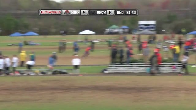 [2016-Easterns-M] Minnesota v UNC Wilmington (Semifinal)