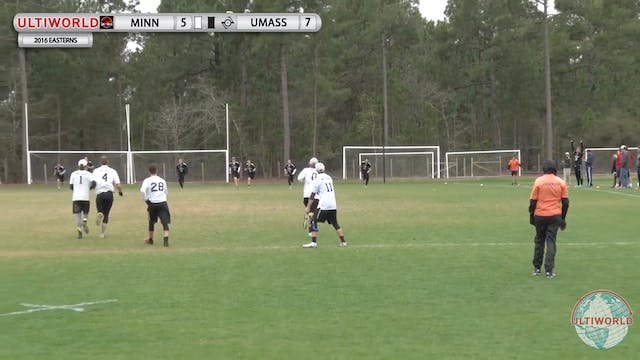 [2016-Easterns-M] Minnesota v. UMass ...