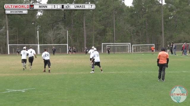 [2016-Easterns-M] Minnesota v. UMass (Final)