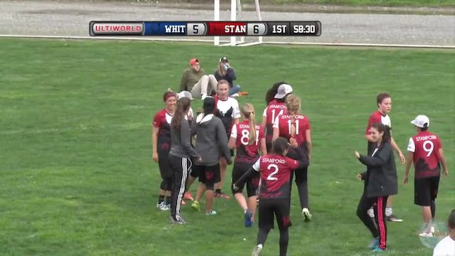 Stanford vs. Whitman | Women's Crosso...