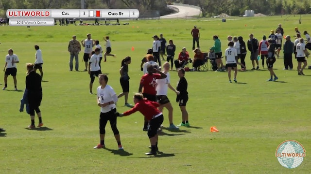 California vs. Ohio State | Women's Pool Play | Centex 2016