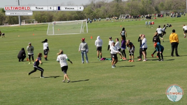 Texas vs. Virginia | Women's Pool Play | Centex 2016