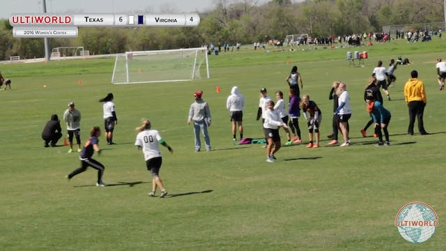[2016-Centex-W] Texas v Virginia