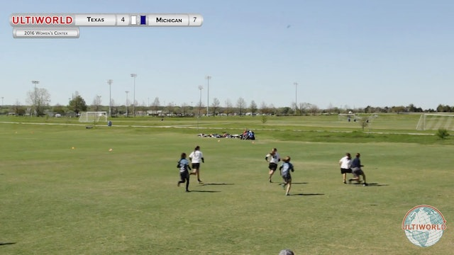 Texas vs. Michigan | Women's Final | Centex 2016