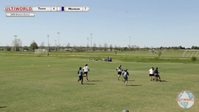 [2016-Centex-W] Texas v Michigan (Final)