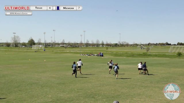 [2016-Centex-W] Texas v Michigan (Fin...