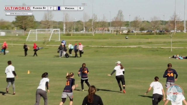 Florida State vs. Virginia | Women's Prequarterfinal | Centex 2016