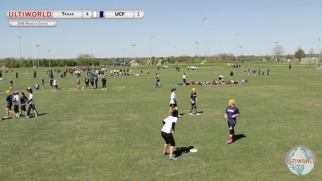 Texas vs. Central Florida | Women's Quarterfinal | Centex 2016