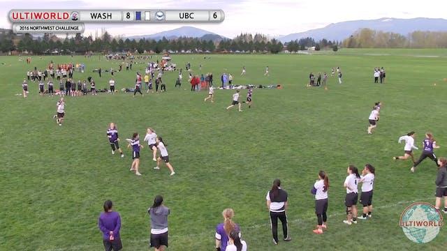 Washington vs. British Columbia | Wom...
